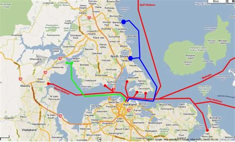 boat shipping map expanding the ferry network greater auckland