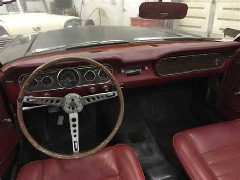 mustang pony interior 1965 ford mustang convertible pony interior no rust
