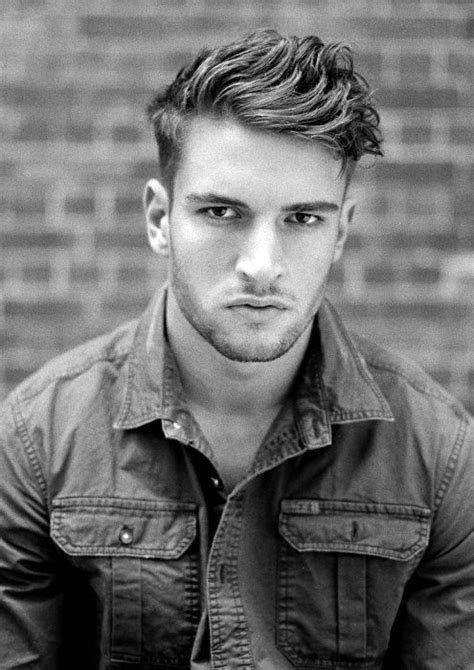 gentlemanly hairstyles for short hair short wavy hair for men 70 masculine haircut ideas