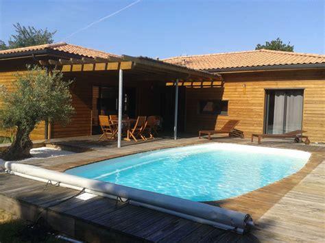 piscine en bois 229 l 232 ge cap ferret location de vacances villa avec jardin