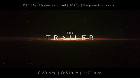 videohive templates after effects project files trailer after effects template videohive 19450203