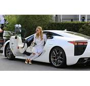 Paris Hilton Would Match Her Outfit To LFA Celebrity Cars Blog