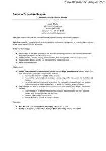 Sample Resume For Bank Jobs Resume Templates For Banking Jobs Free Resume Examples 2017