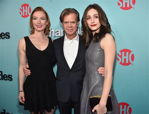 emmy rossum and william macy william h macy videos at abc news video archive at