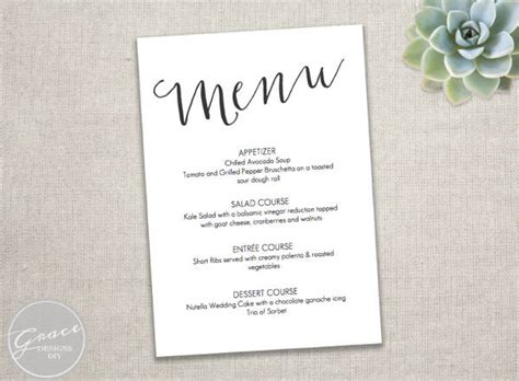 printable menu card templates franklinfire co
