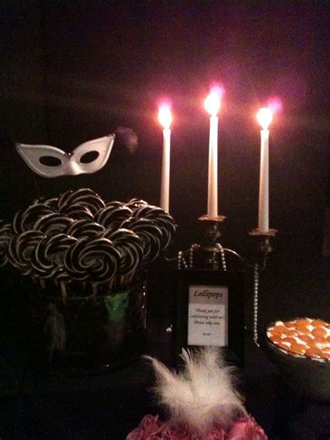 mask themed events masquerade themed party dessert buffet event planner and