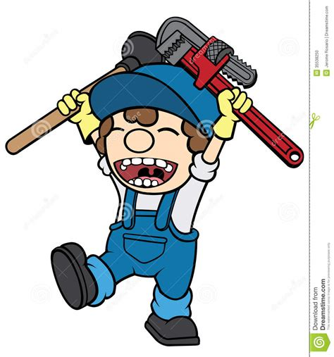 Happy Pipes Plumbing by Happy Plumber Stock Photo Image 35538250