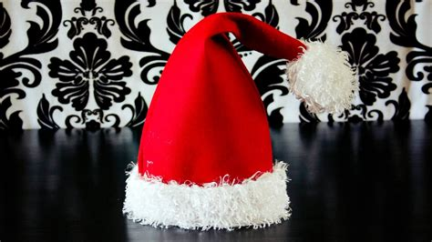 how to make christmas hats how to make a santa hat
