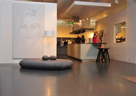 concrete flooring options   home