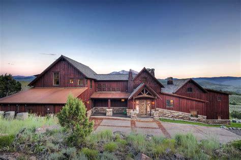 Farmhouse Style Home Residential Architecture Aspen Colorado David Johnston