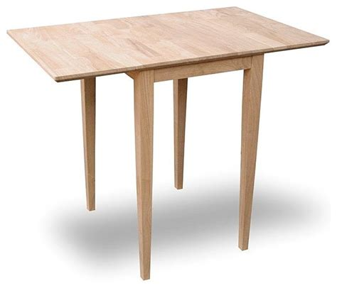drop leaf dining table for small spaces contemporary