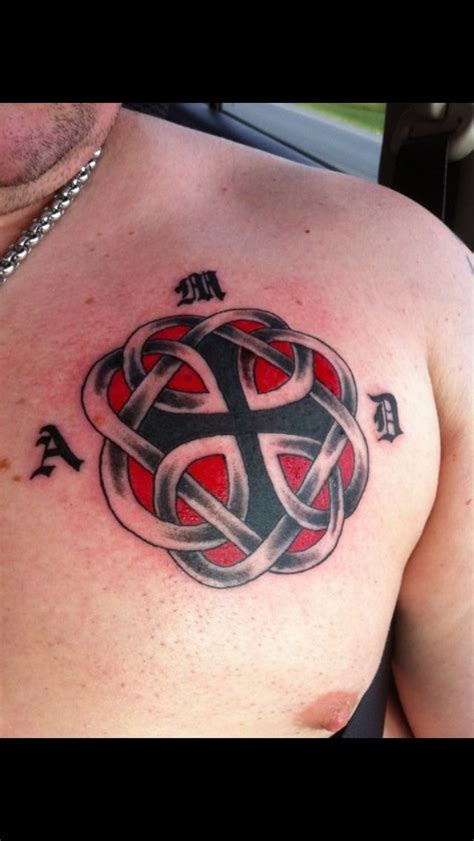 tattoos for dads with daughters my celtic knot that is the symbol for