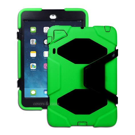 Casing Mini 3 green protective heavy duty for apple mini 1 2 3 tradesman cover