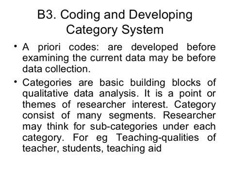priori themes qualitative research qualitative data analysis