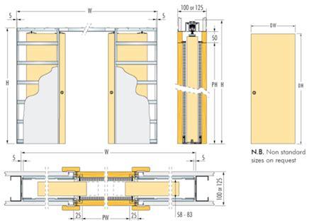 standard stud wall thickness stud wall thickness eclisse unico dd pocket door kit 125mm