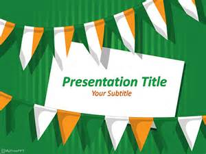 India Powerpoint Template by Free Indian Republic Day Powerpoint Template