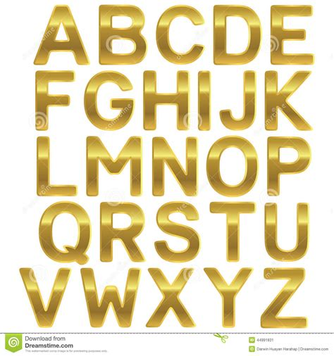 House Design Game Free Download by Font Gold Uppercase Alphabet Stock Vector Image 44991831