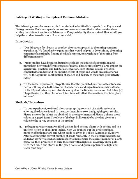 business report exles 2 writing for students and 8
