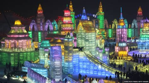 ice city in pictures amazing ice city opens in harbin china
