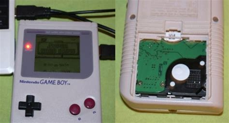 gameboy usb mod usan una game boy como carcasa de disco duro engadget en