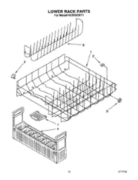 parts for kitchenaid kuds230y1 dishwasher