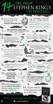Stephen King Essay by Infographic 14 Top Tips From Stephen King S On Writing Hodderscape