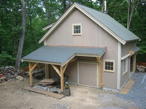 Cave Garage Plans by Barn Style Detached Garage Exteriors
