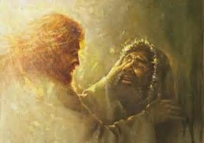 Jesus Gives Sight To The Blind Jesus Healing Blind Man 171 Mission Del Caribe 501 C 3
