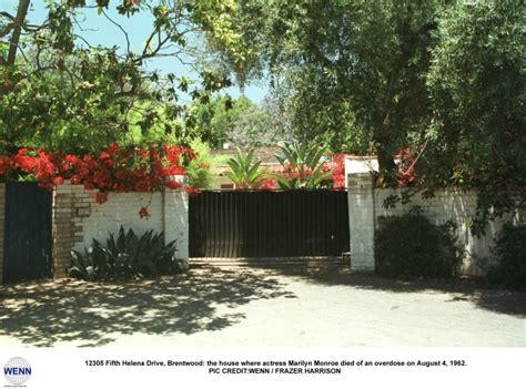 12305 Fifth Helena Drive Brentwood Ca by Marilyn Monroe Photo Who2