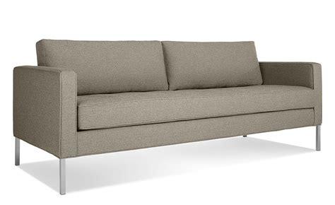 blu dot paramount sofa paramount medium sofa hivemodern com