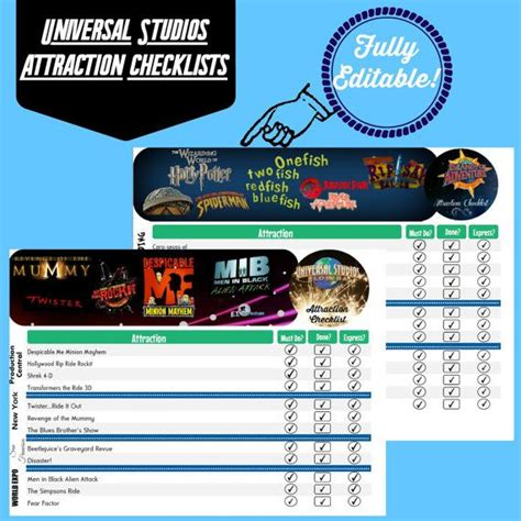 printable tickets universal studios orlando universal studios orlando attraction printables