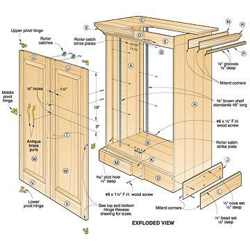 wardrobe woodworking plans 1000 ideas about cabinet plans on diy