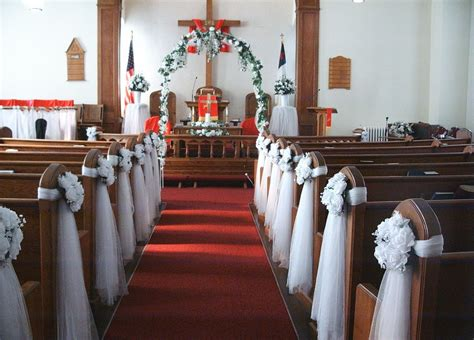 church decorating ideas como decorar una iglesia para una boda
