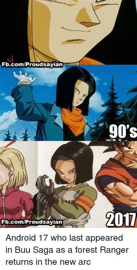 Will Android 17 Come Back by Android 17 Memes Of 2017 On Sizzle Android