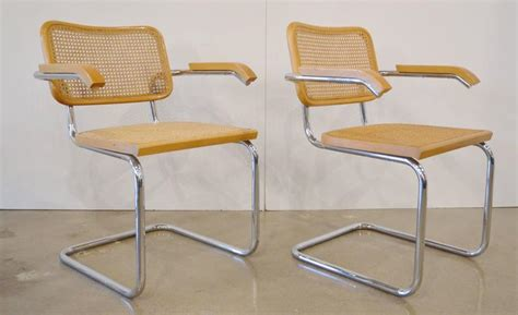 cesca armchair set of four marcel brauer quot cesca quot armchairs at 1stdibs