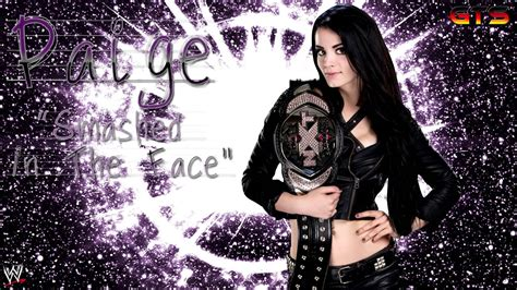 paige theme 2013 paige wwe theme song quot smashed in the face