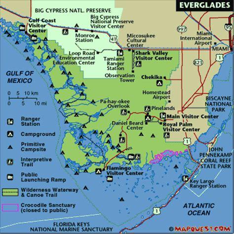 everglades national park map circumnavsouth