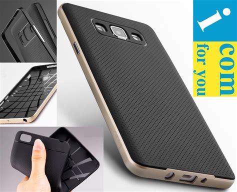Bumper Armor Slim Cover Casing Samsung Galaxy A3 2015 ipaky drop resistance soft hybrid slim armor protector cover for samsung galaxy a7 a5 a3 in