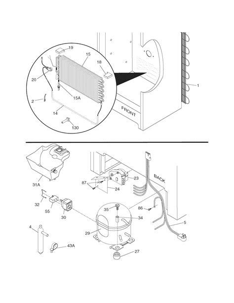 Frigidaire LFFH2067DW2 upright freezer parts | Sears