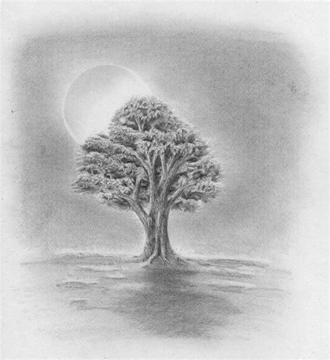 Wie Zeichnet Schatten by Laub Baum Zeichnen Lernen Zeichenkurs
