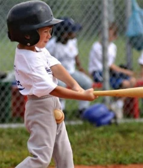 a swing and a miss perfectly timed kid photos