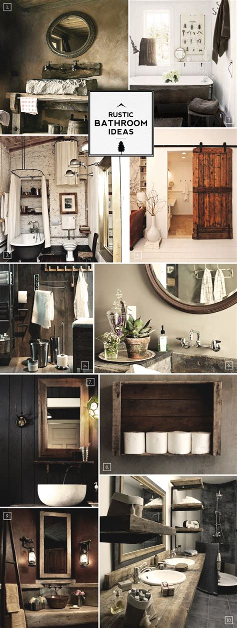rustic bathroom set rustic bathroom decor on pinterest pallet shelf bathroom