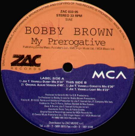 bobby brown my prerogative mp bobby brown vinyl cd maxi lp ep for sale on
