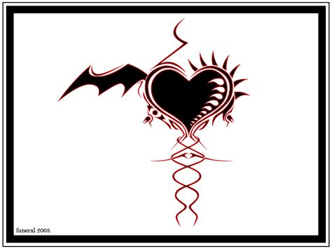 gothic heart tattoo designs www pixshark com images devilian s goth heart by funeral666 on deviantart