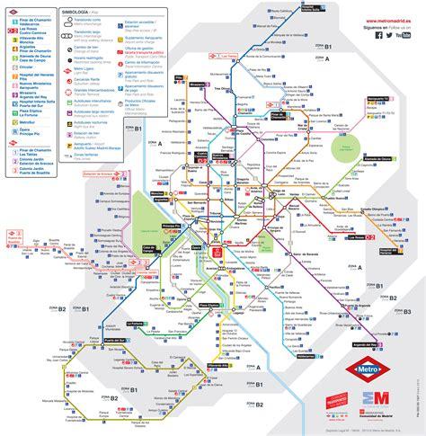 plano metro de madrid plaza eliptica mapa metro