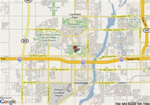 Goodyear Arizona Map by Map Of Hampton Inn Amp Suites Goodyear Goodyear