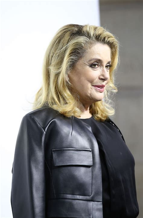 catherine deneuve louis vuitton catherine deneuve at louis vuitton boutique opening