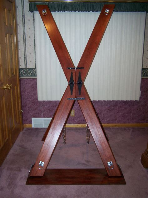 homemade spanking bench st andrews cross bondage table spanking bench