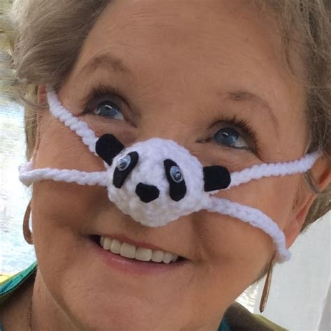 cold nose panda nose warmer winter nose cover unisex outdoor sporting