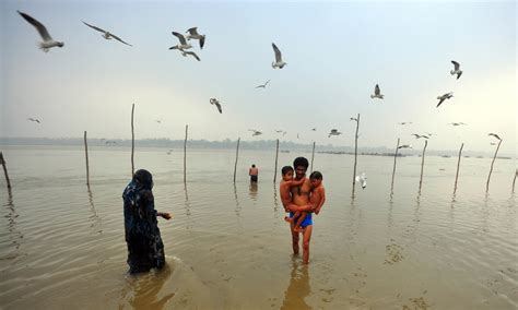 boat club in allahabad allahabad official urinates into india s sacred river